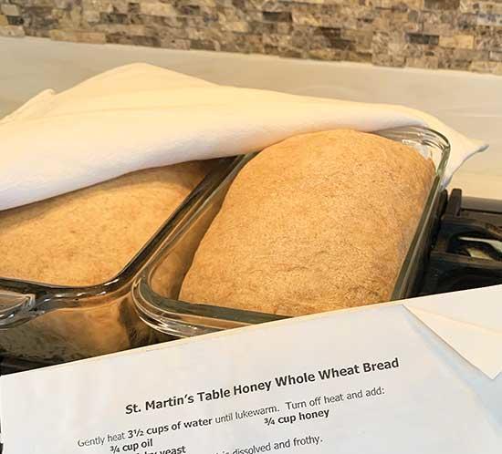 St. Martin's Table Honey Whole Wheat Bread