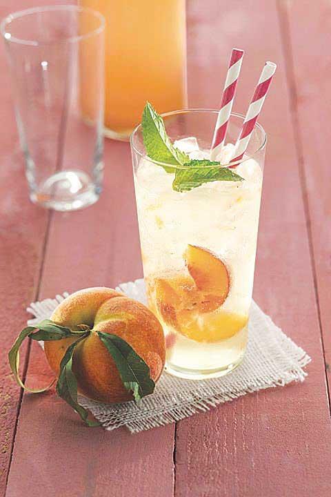 Ginger-Peach Soda
