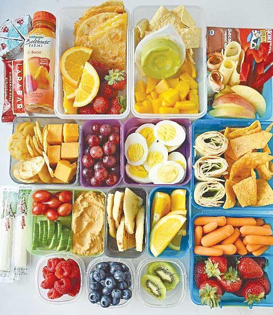 Back-to-School Kids' Lunch Ideas