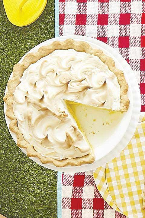 Meyer Lemon Meringue Pie