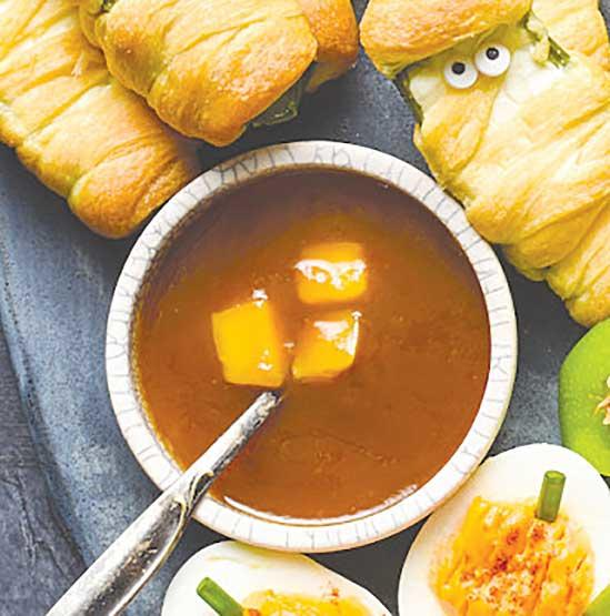 Sweet and Sour Mango Dipping Sauce