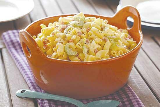 Old-Fashioned Macaroni Salad