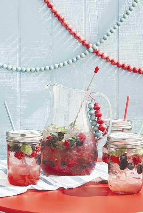 Refreshing Berry Spritzer