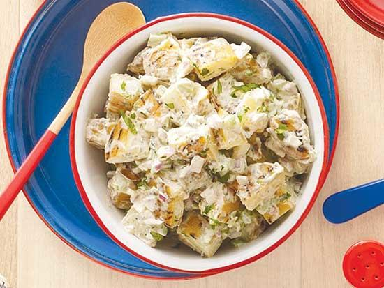 Smokin' Potato Salad