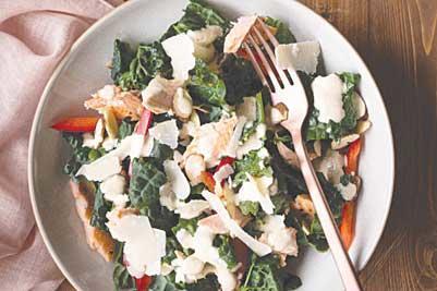 Trout Caesar Salad