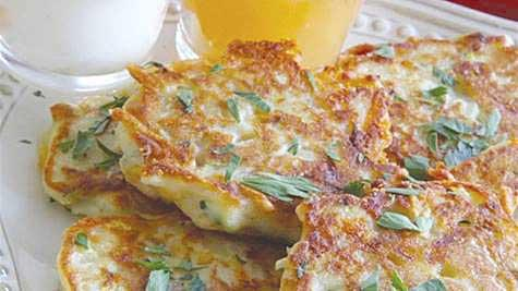 Zucchini Potato Pancakes