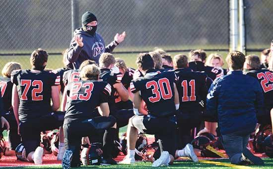 Annandale, Dassel-Cokato, Maple Lake, Monticello win section gamesIn a normal year, only seven high school football teams are left celebrating a victory in their final game of the season.During this Covid year, a season that had teams drop out...