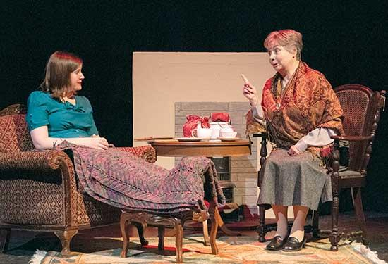 "Buffalo Community Theatre's fall mystery, ""Go Back for Murder,"" gives its final three performances this weekend, Friday, Saturday, and Sunday, November 1, 2, and 3. Curtain opens at 7:30 p.m. Friday and Saturday, with Sunday's final performance at 2..."
