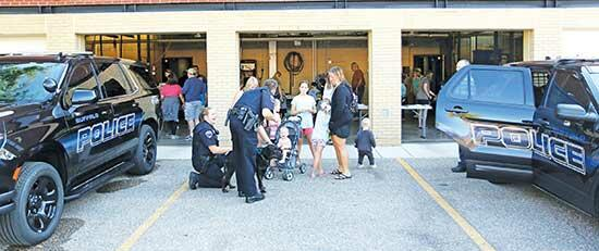 The Buffalo Police Department welcomed the public for the station's Open House on Saturday, Oct. 9. People had the opportunity to meet the BPD and get a tour of the station and squad cars. See this week's feature inside this Journal-Press for more...