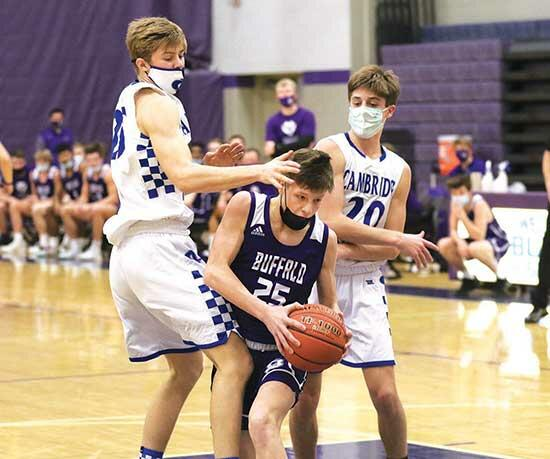 Bison starters take seat in 68-41 blowoutBasketball is one of the high school sports lucky enough to have fans in the stands. But even if spectators weren't allowed, this year's Buffalo boys' team would still have a vocal cheering section.That...