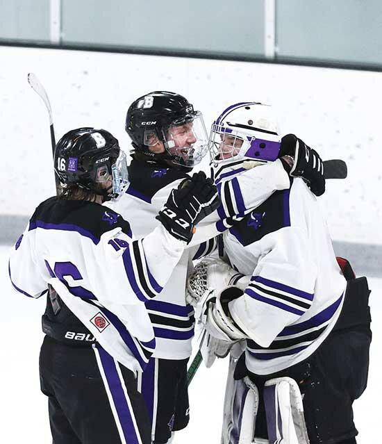Preugschas brothers enjoy big day in 2-1 victory over St. Louis ParkLex Preugschas is trying to put pucks in the back of the opposing goaltender's net. His older brother, Levi, is trying to avoid pucks from hitting the back of his.The...