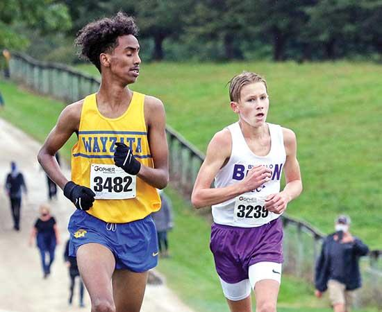 Gale Woods Farm in Minnetrista has become the unofficial home away from home for the Buffalo boys' cross country team.Even though Edina was the host team for a Lake Conference triangular featuring Buffalo and Wayzata on Wednesday, Sept. 9 at Gale...