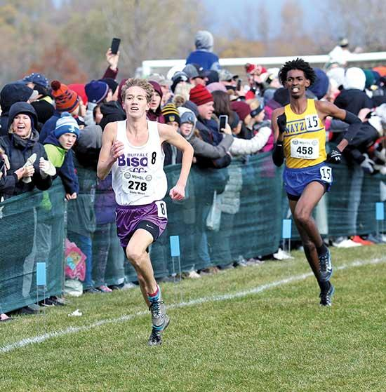Cross Country is a sport that takes stamina, speed, and mental toughness.Buffalo senior Nick Oak displayed all of the above in last Saturday's Class AA boys state meet at St. Olaf College in Northfield.Oak's time of 15:47.5 placed sixth overall,...