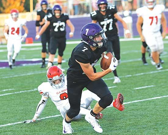 It wasn't 150, but last Friday's rematch between the Buffalo and Elk River football teams still provided the capacity crowd at Bison Field West plenty of thrills.In a game that featured nearly half the offense than last year's epic 80-70 battle,...