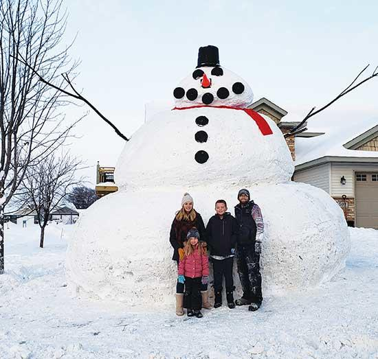 "In light of the recent snow, the Fobbe family, of Buffalo, is at it again! Continuing the ""big snowman"" trend, the Fobbe's made sure this year's snowman topped the April 2018 13-footer. This snowman is 20 feet tall, and again required a skidsteer,..."