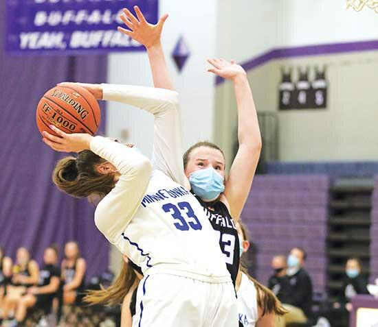 Three starters reach double figures in 76-66 home loss to Minnetonka The opening game for the Buffalo girls' basketball team didn't produce a victory, but last Saturday's 76-66 home loss to No. 9 ranked Minnetonka produced something else the...