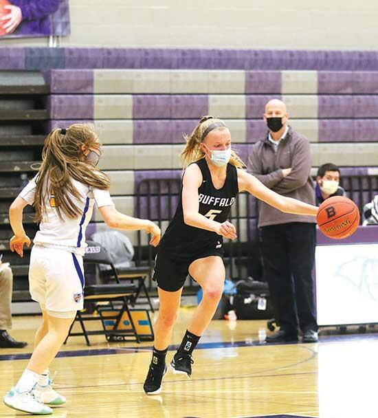 Bison knock off Spuds, but fall again to STMAA three-and-a-half-hour road trip from Buffalo to Moorhead was just what the doctor ordered.Fresh off their first victory of the season in a 60-59 home win Feb. 16 against Edina, the Buffalo girls'...