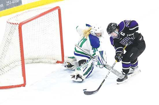 The Buffalo/Maple Lake girls' hockey team went the entire regular season allowing three goals or less.So what gave in a 5-3 season-ending defeat in last Saturday's opening round of the Section 8AA quarterfinal playoff round against Sartell-Sauk...