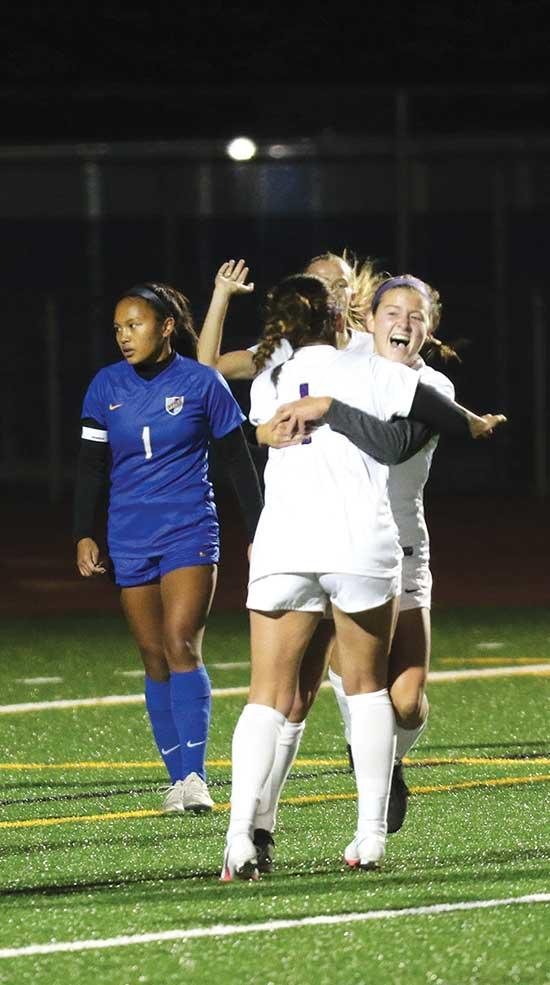 "Kauffman's goal helps Bison earn first conference point ""One-hundred percent.""That was the message Head Coach Josh Soukup relayed to his team prior to the start of the Buffalo girls' soccer team's road game on Tuesday, Sept. 8 at St. Michael-..."