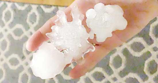 Residents of Wright County and the Twin Cities metro area experienced to severe storms late Sunday night into early Monday morning, Aug. 10. The National Weather Service received reports of tennis ball-sized hail in Loretto, and Buffalo residents...