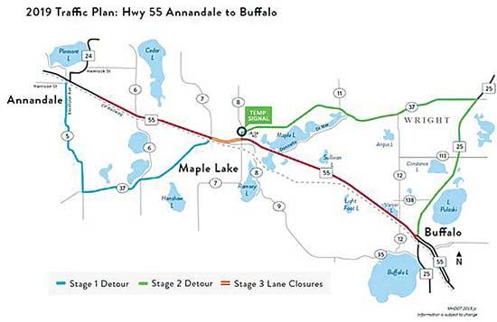 Those who travel Highway 55 between Annandale and Buffalo are encouraged to attend one of three public open houses to learn about a major project that will reconstruct and improve Highway 55 in 2019.Open house attendees will be able to learn about...