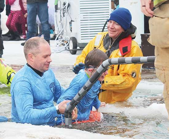 A sunny and delightful 30 degrees ushered the community out to Sturges Park on Saturday, March 9 to participate in this year's Polar Plunge in benefit of Special Olympics.Over 200 folks took the plunge into icy Buffalo Lake, and raised...