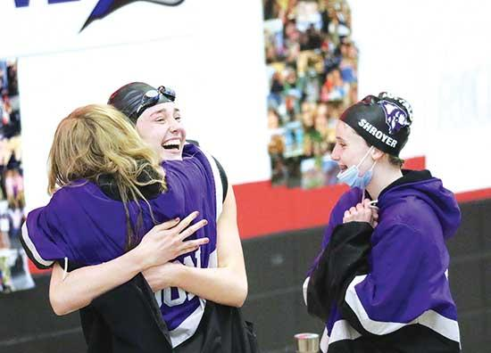 Personal records, three section championships highlight this year's one and only tournamentA half point is all that separated the Buffalo girls' swim/dive team from winning the program's first-ever section championship.Moorhead's team score of...