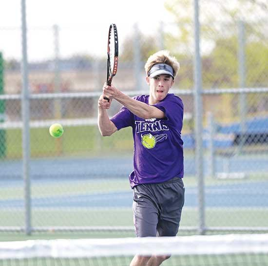With very few section games played during the regular season, Buffalo Head Coach Ben Watkins wasn't sure what to expect coming into this year's Section 5AA boys' tennis tournament.Buffalo came into the tourney having faced only two section teams,...