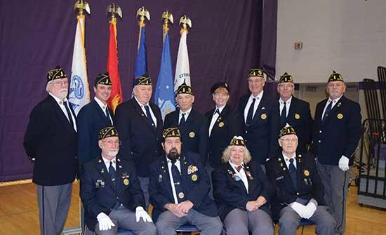 """Veterans from around the area were honored at a Veterans Day ceremony at Buffalo High School on Monday, November 11.The program featured guest speaker U. S. Senator Tina Smith and was highlighted by remarks from the Guida family.""""We're here today..."""