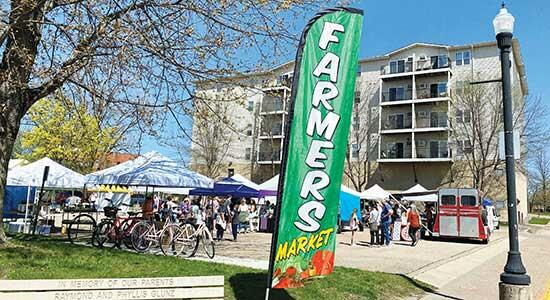 Downtown Buffalo was a busy location on Saturday, May 1. The Farmers Market kicked off its outdoor season, with vendors set up in the parking lot across from the old Buffalo Cinema and offering homegrown produce and handmade products. The market is...